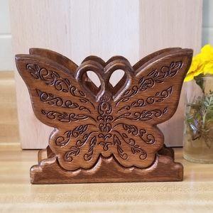 Groovy Butterfly Napkin Holder